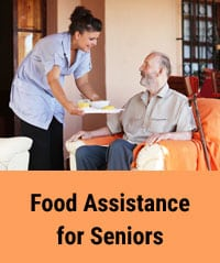 Food assistance for seniors during coronavirus pandemic